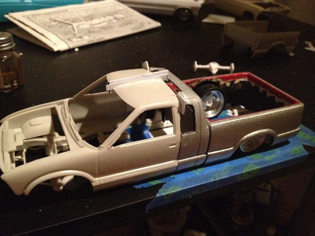 1994 Chevy S10 Scale Auto Magazine For Building Plastic Resin