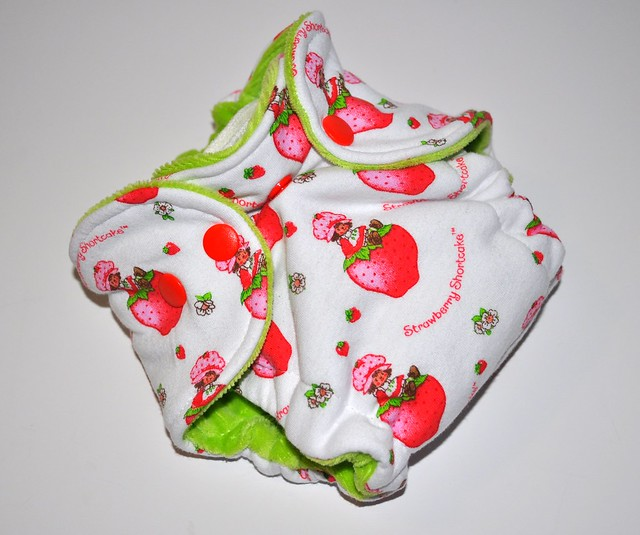 Bumstoppers Newborn Strawberry Shortcake  Fitted