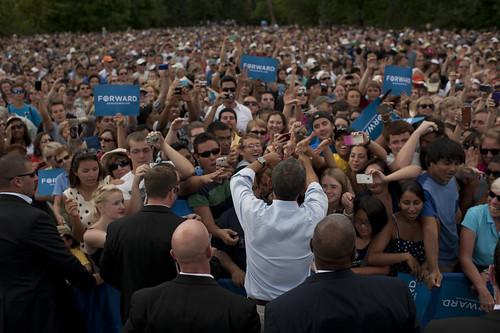 Barack Obama in Boulder, CO - September 2nd