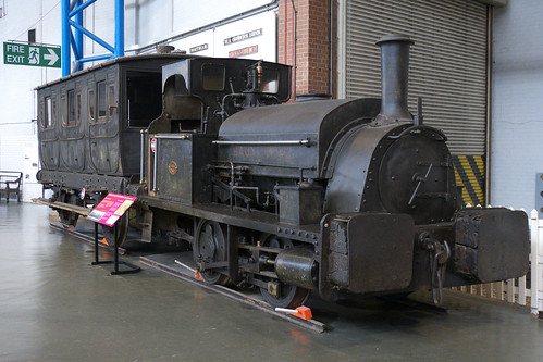20120519 044 NRM York. 'BAUXITE' 0-4-0ST Built 1874 Black, Hawthorn & Co. Works No. 305