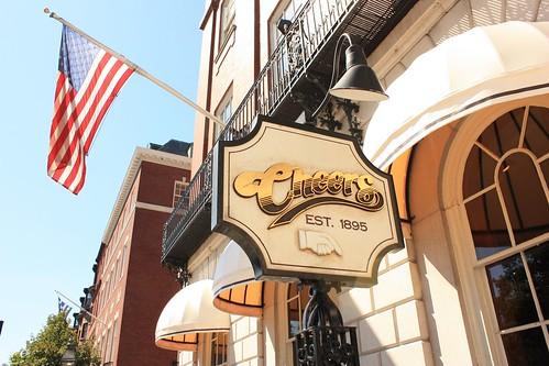 Cheers bar in Boston