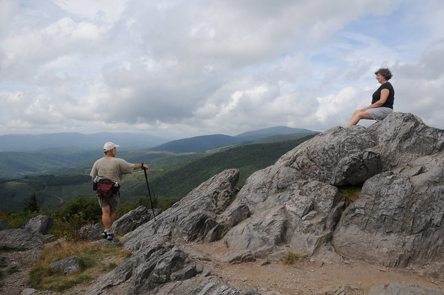 Twin Pinnacle Trail at Grayson Highlands State Park