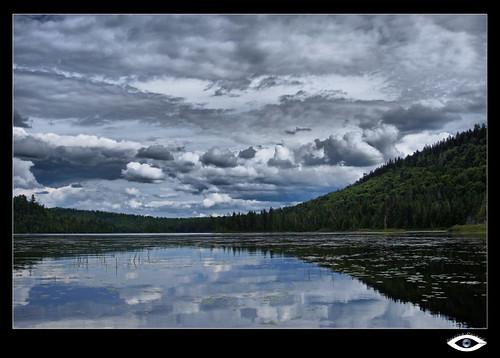 kayak lac été nuage stalexis réservefauniquemastigouche lacausocier