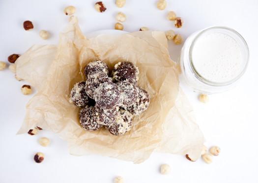 Nutella dessert bites