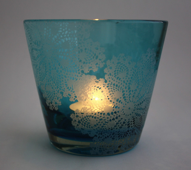 Painted Lace Glass