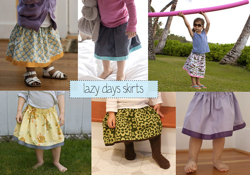 lazy days skirts