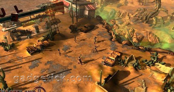 геймплей Wasteland 2