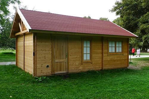 Hütte in der Karlsaue
