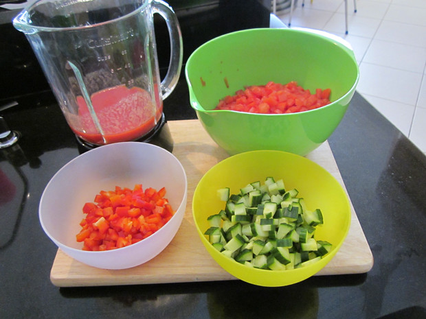 Ingredients, Gazpacho Recipe