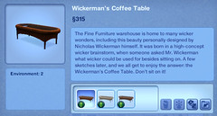 Wickerman's Coffee Table