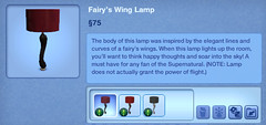 Fairy's Wing Lamp