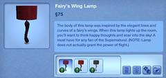 Fairy's Wing Lamp