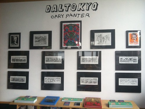 Gary Panter Dal Tokyo show