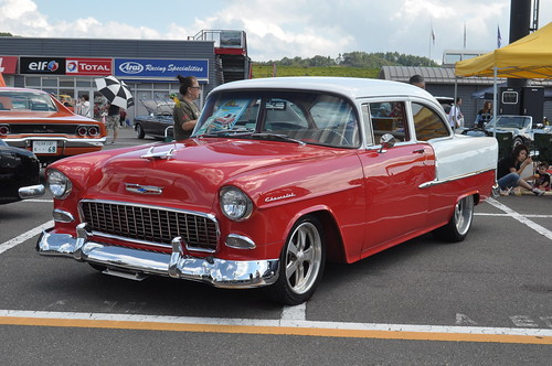 1955 CHEVROLET BEL AIR 2dr