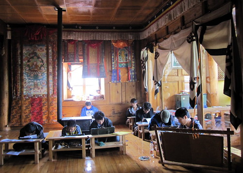 Tangka painting school Zhongdian (Shangri-la), China