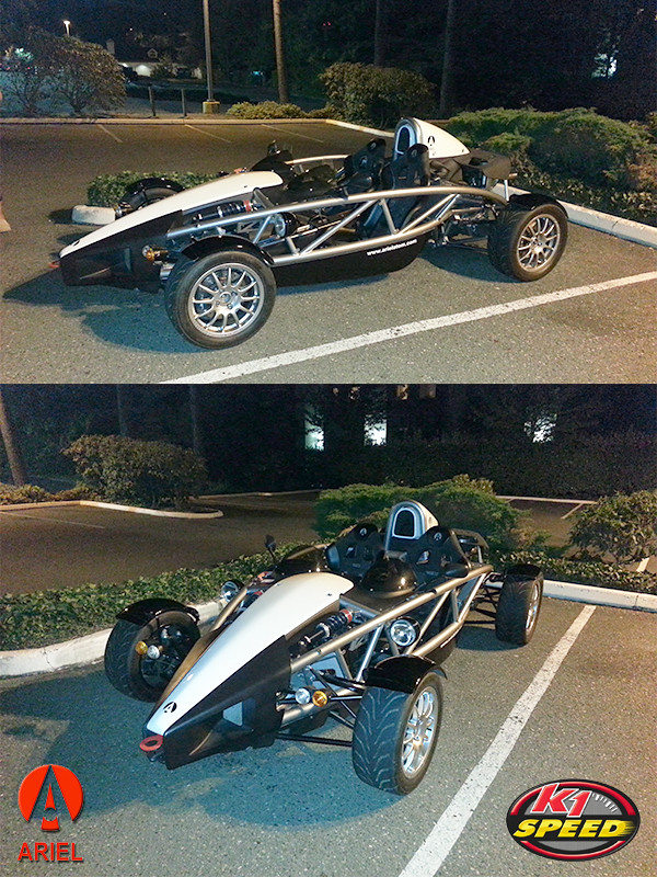K1 Speed | The Ariel Atom spotted at K1 Speed Seattle