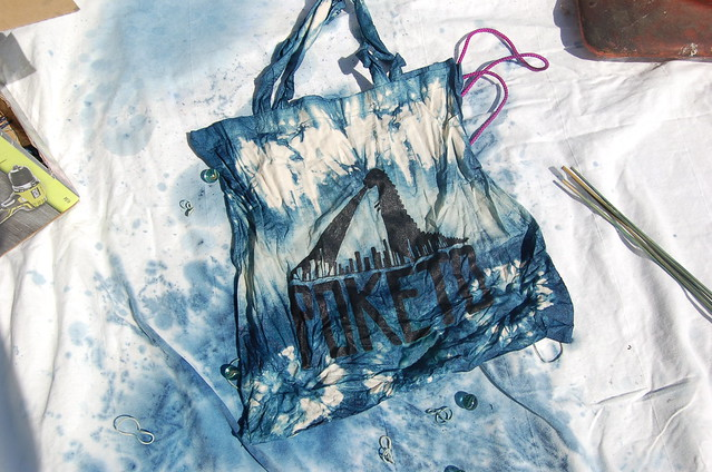 Indigo dying workshop at For Your Art