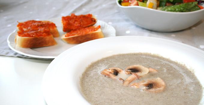 champinjonsoppa