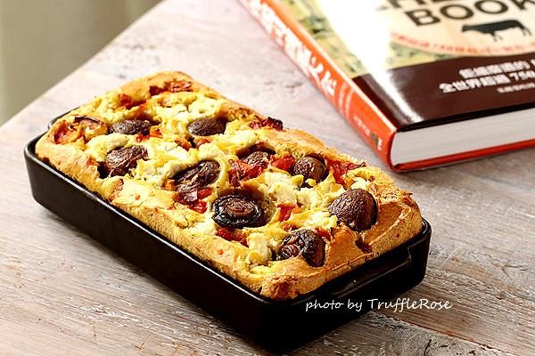 Ricotta。蘑菇咖哩鹹蛋糕-120911