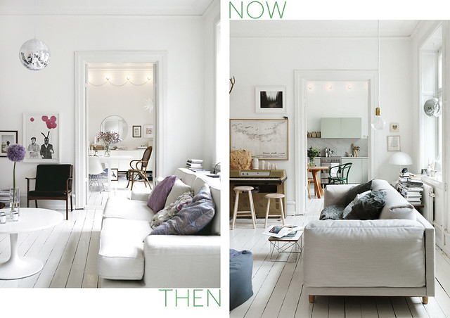 Now & Then: Home of Stylist Emma Persson Lagerberg
