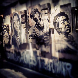 Epilogue at Hold up art. #holdupart #hughleeman #dyoungv #eddiecolla