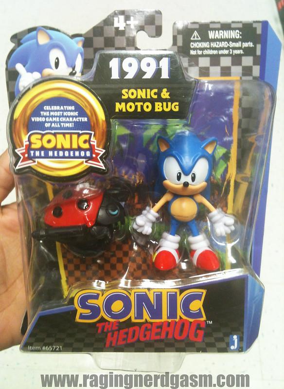 Sonic The Hedgehog Figures by Jazwares 1991 Sonic & Moto Bug004