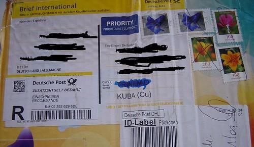 gepäck mit der post schicken