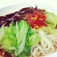 辣福麵 #food #vegetarian #noodle