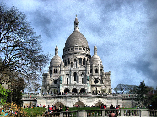 Sacré-Coeur, Paris, France