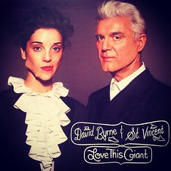 9.14 favorite - two of my favorite artists - david byrne & @st_vincent #fmsphotoaday