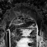 Gateway in black and white