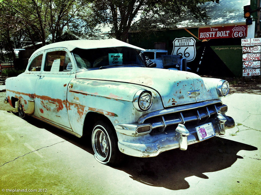 Old Car at Seligman route 66