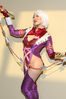 "Escapist Expo 2012 - Stella Chuu as Ivy from ""Soul Calibur"""