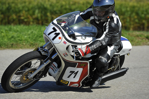 Slippery Sam Triumph motorcycle Schwanenstadt GP Austria Copyright 2012 B. Egger :: eu-moto images 1250
