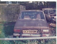 RENAULT 12,lakeside garage helston 1986.