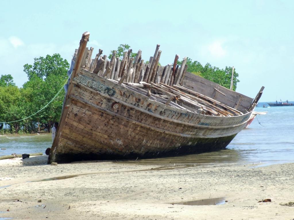 Unfinished Boat, Zanzibar