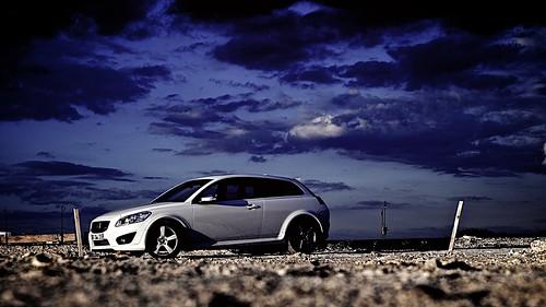 sunset urban white france car volvo focus sony voiture manual valenciennes rdesign c30 nex5