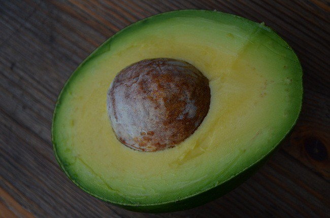 opened avocado