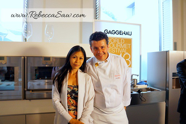 Bangkok World Gourmet Festival - frederic vardon  n rebecca saw