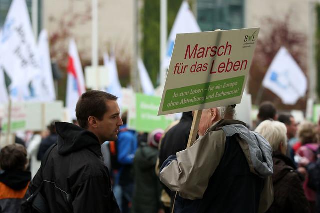 Berlin 22.09.2012 Abtreibung pro und contra  TR_05323