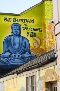 Big Buddha is watching you