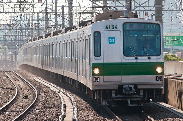 東京地下鉄千代田線6000系6134F 廃車回送