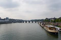 Maastricht - La Meuse et le Sint Servaasbrug Bridge