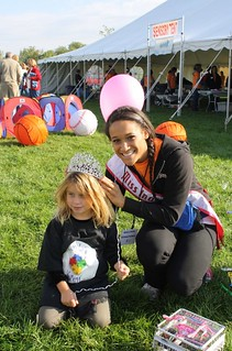 NAMiss Indiana at the Answers for Autism Walk