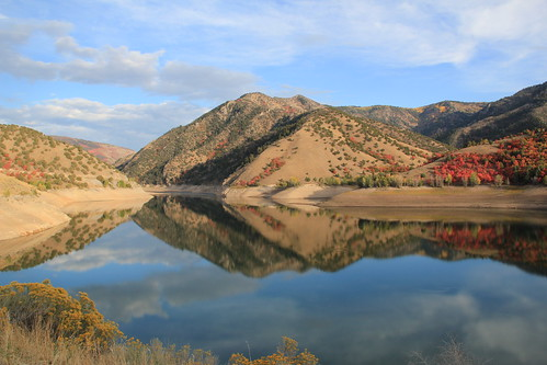 Porcupine Reservoir in the Fall