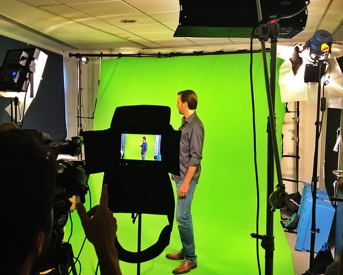 Green Screen studio in Old Street, London by Napoleon Creative