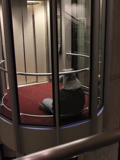 Guy Wearing Elevator Shoes