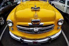 Bright yellow classic ride