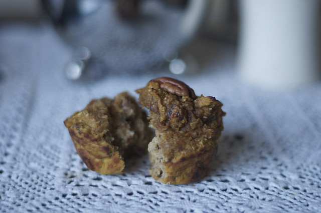 pumpkin protein muffin