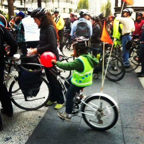 Kiddical mass #sfcm20 #criticalmass